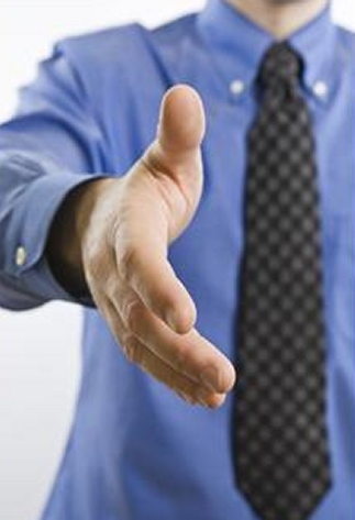 An everyday activity like shaking hands can be awkward for left-handers